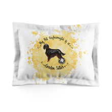 Load image into Gallery viewer, Gordon Setter Pet Fashionista Pillow Sham