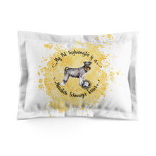 Load image into Gallery viewer, Miniature Schnauzer Pet Fashionista Pillow Sham