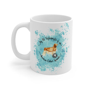 American Cocker Spaniel Pet Fashionista Mug