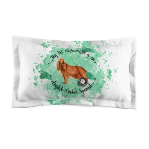 English Cocker Spaniel Pet Fashionista Pillow Sham