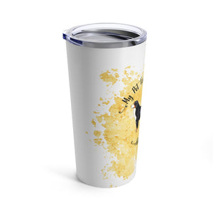 Bernese Mountain Dog Pet Fashionista Tumbler