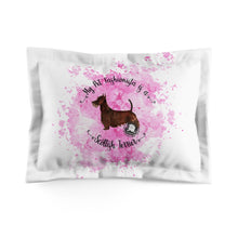 Load image into Gallery viewer, Scottish Terrier Pet Fashionista Pillow Sham