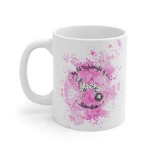 Dalmation Pet Fashionista Mug