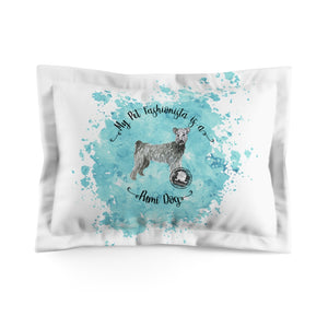 Pumi Dog Pet Fashionista Pillow Sham