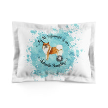 Load image into Gallery viewer, Icelandic Sheep Dog Pet Fashionista Pillow Sham
