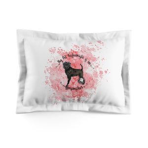 Affenpinscher Pet Fashionista Pillow Sham
