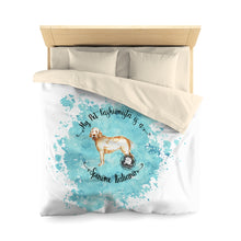 Load image into Gallery viewer, Spinone Italiano Pet Fashionista Duvet Cover