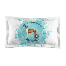 Load image into Gallery viewer, Collie (Smooth) Pet Fashionista Pillow Sham