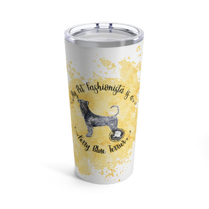 Kerry Blue Terrier Pet Fashionista Tumbler