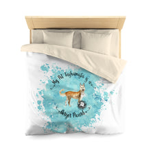 Load image into Gallery viewer, Berger Picard Pet Fashionista Duvet Cover