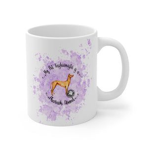 Pharoah Hound Pet Fashionista Mug