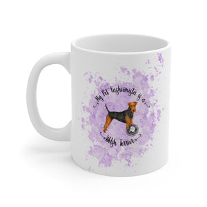 Welsh Terrier Pet Fashionista Mug