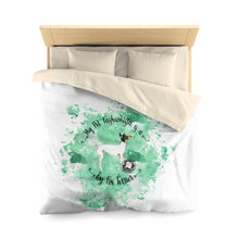 Load image into Gallery viewer, Toy Fox Terrier Pet Fashionista Duvet Cover