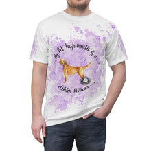Load image into Gallery viewer, Golden Retriever Pet Fashionista All Over Print Shirt