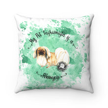Load image into Gallery viewer, Pekingese Pet Fashionista Square Pillow