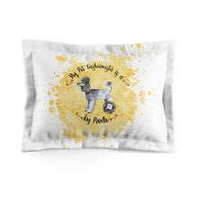 Load image into Gallery viewer, Toy Poodle Pet Fashionista Pillow Sham