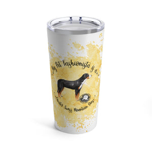 Greater Swiss Mountain Dog Pet Fashionista Tumbler