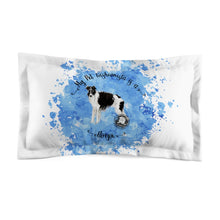 Load image into Gallery viewer, Borzoi Pet Fashionista Pillow Sham