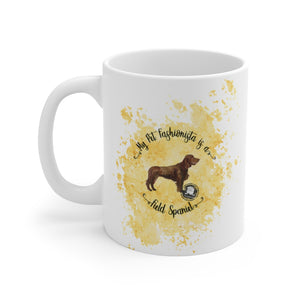 Field Spaniel Pet Fashionista Mug
