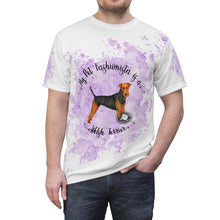 Load image into Gallery viewer, Welsh Terrier Pet Fashionista All Over Print Shirt