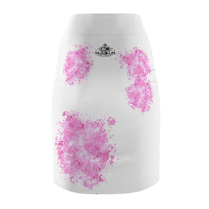 Pink Splash Pet Fashionista Pencil Skirt
