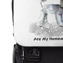 Load image into Gallery viewer, My Toy Poodle Ate My Homework Backpack