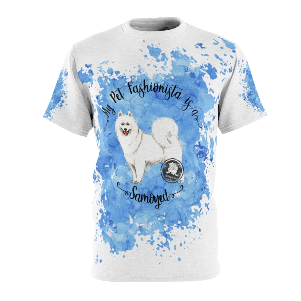 Samoyed Pet Fashionista All Over Print Shirt