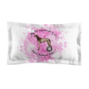 German Shorthaired Pointer Pet Fashionista Pillow Sham