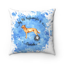 Load image into Gallery viewer, Chinook Pet Fashionista Square Pillow