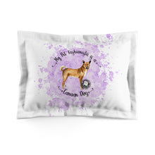 Load image into Gallery viewer, Canaan Dog Pet Fashionista Pillow Sham