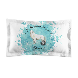 Great Pyrenees Pet Fashionista Pillow Sham
