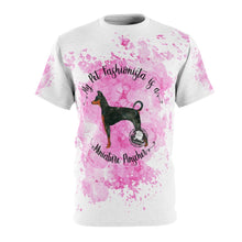 Load image into Gallery viewer, Miniature Pinscher Pet Fashionista All Over Print Shirt