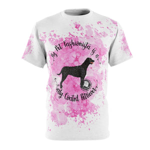 Curly-Coated Retriever Pet Fashionista All Over Print Shirt