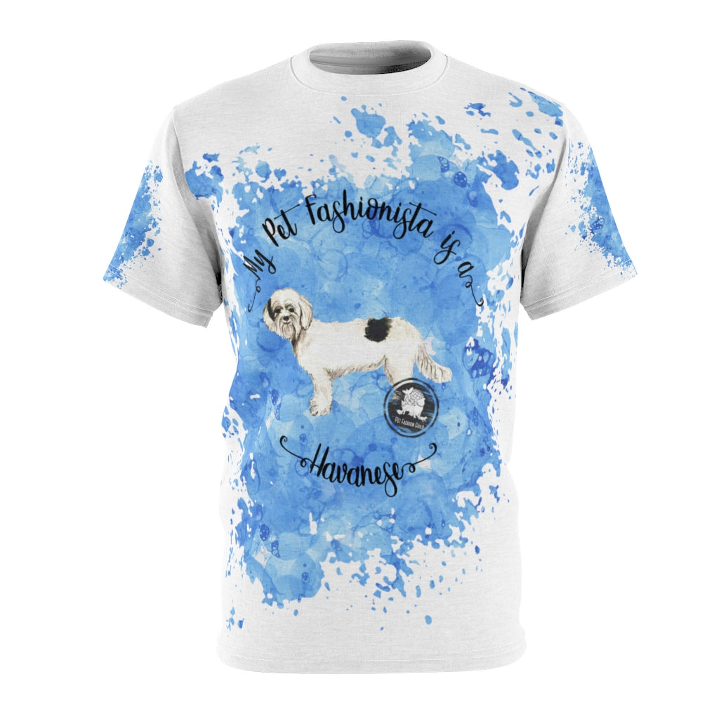 Havanese Pet Fashionista All Over Print Shirt