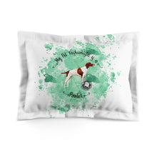 Load image into Gallery viewer, Pointer Pet Fashionista Pillow Sham