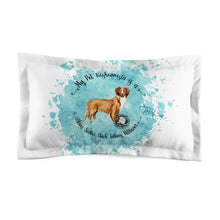 Load image into Gallery viewer, Nova Scotia Duck Tolling Retriever Pet Fashionista Pillow Sham