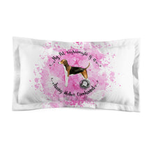 Load image into Gallery viewer, Treeing Walker Coonhound Pet Fashionista Pillow Sham