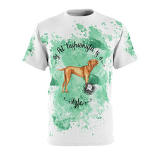Load image into Gallery viewer, Vizsla Pet Fashionista All Over Print Shirt