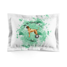 Load image into Gallery viewer, Boxer Pet Fashionista Pillow Sham