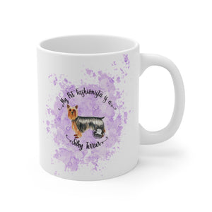 Silky Terrier Pet Fashionista Mug