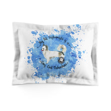 Load image into Gallery viewer, Chihuahua Long Coat Pet Fashionista Pillow Sham