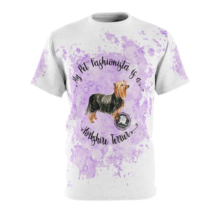 Yorkshire Terrier Pet Fashionista All Over Print Shirt