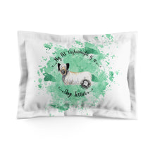 Load image into Gallery viewer, Skye Terrier Pet Fashionista Pillow Sham
