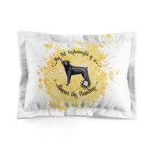 Load image into Gallery viewer, Bouvier Des Flandres Pet Fashionista Pillow Sham