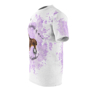 Sussex Spaniel Pet Fashionista All Over Print Shirt