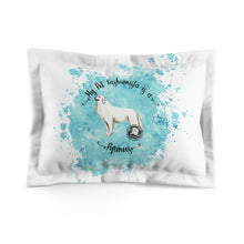 Load image into Gallery viewer, Pyrenees Pet Fashionista Pillow Sham