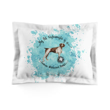 Load image into Gallery viewer, German Wirehaired Pointer Pet Fashionista Pillow Sham