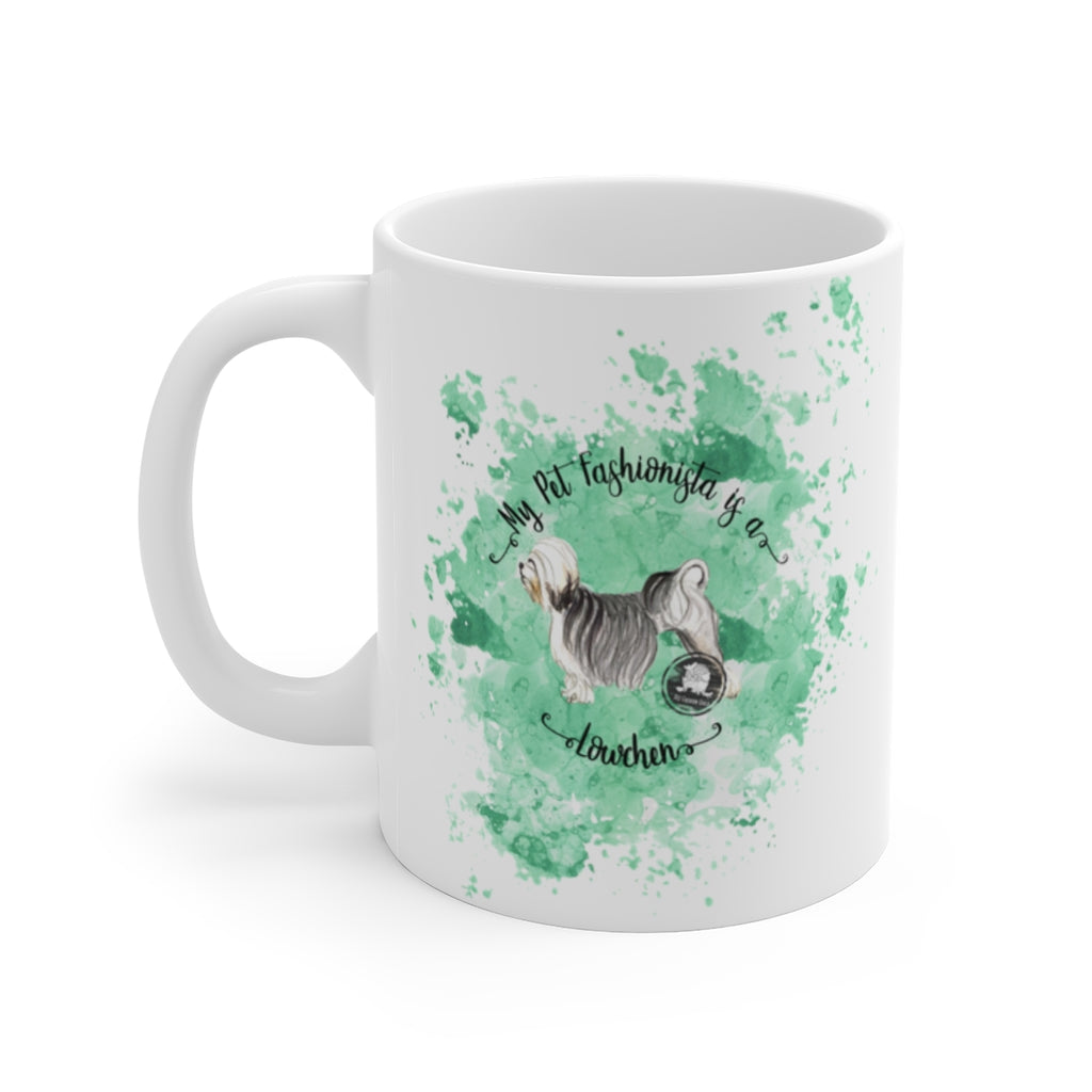 Lowchen Pet Fashionista Mug