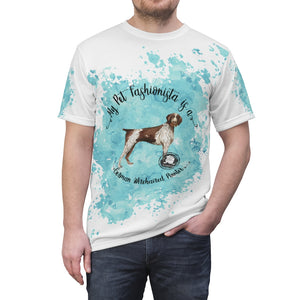 German Wirehaired Pointer Pet Fashionista All Over Print Shirt