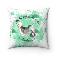 Load image into Gallery viewer, Lowchen Pet Fashionista Square Pillow